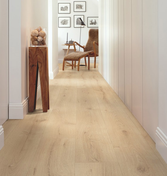 pergo wide long plank sensation hallway