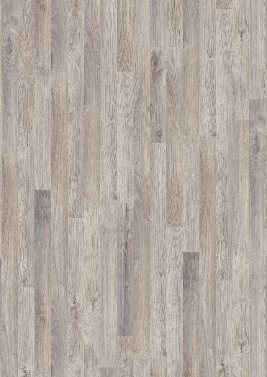 Light grey Classic Plank LMP Laminate Grey Oak, 3-strip L0241-01786