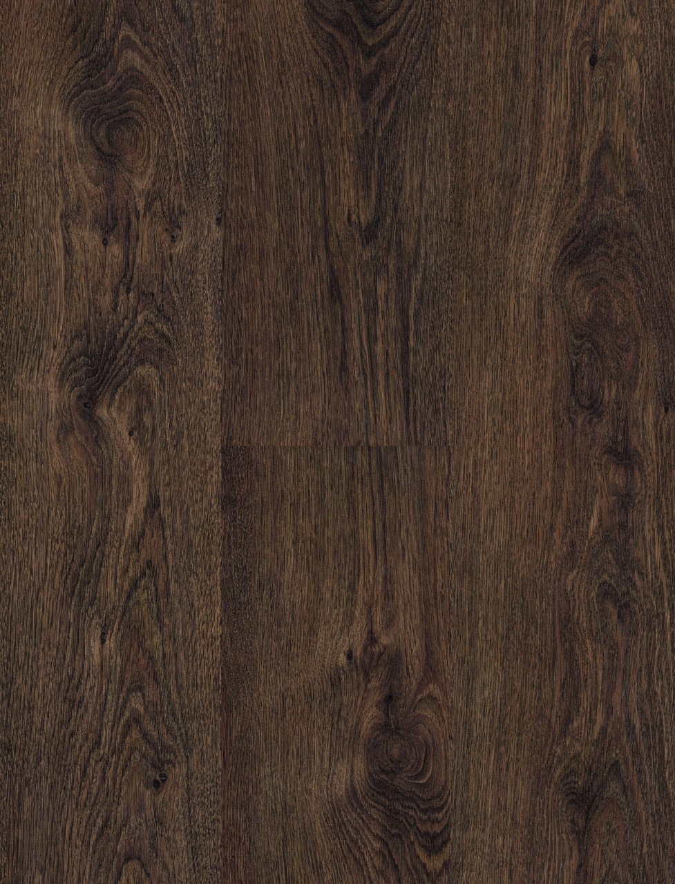 Dark brown Domestic Extra Uniclic Laminate Smoked oak, plank L0701-2135