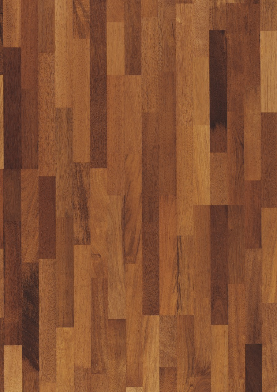Red Värmdö Parquet Natural Merbau, 3-strip W1911-01366