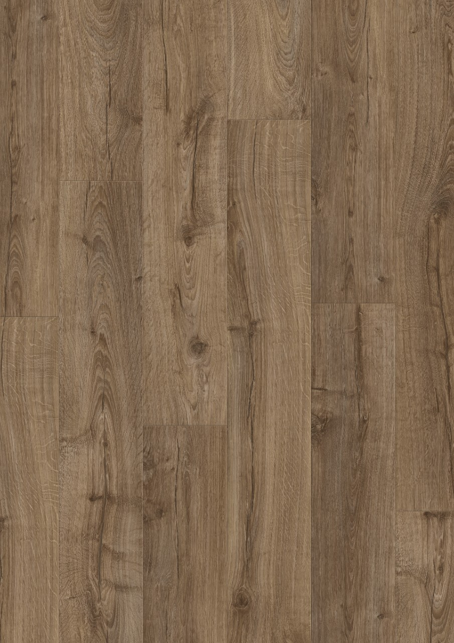 Dark brown Modern Plank - Sensation Laminate Farmhouse Oak, plank L0331-03371