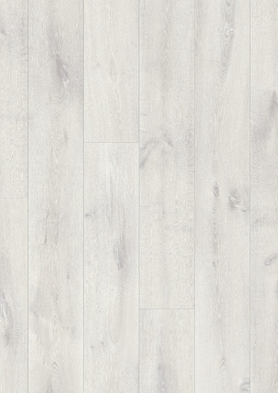 White Long Plank Laminate Winter Oak, plank L0323-01764