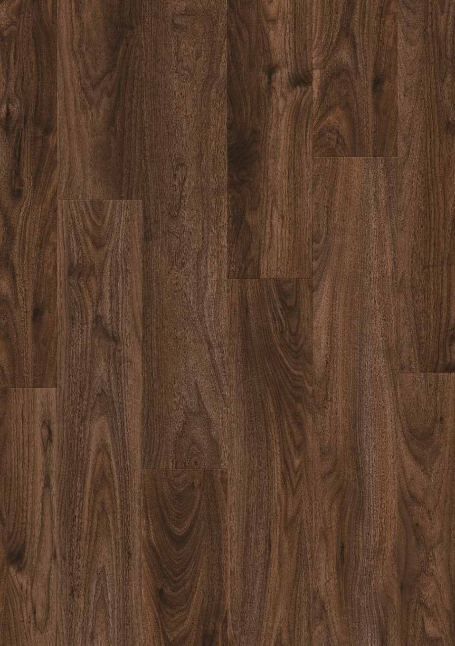 Dark brown Classic Plank LMP Laminate Rogal Dark Walnut L0336-04169