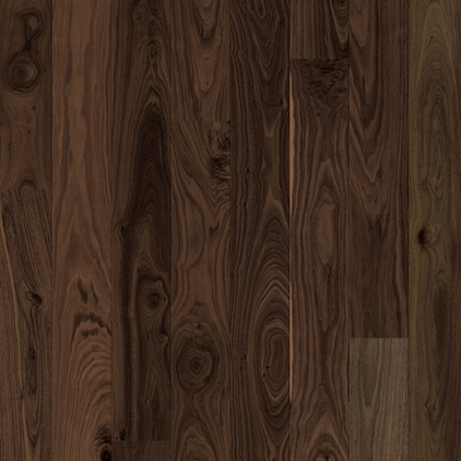 Dark brown Bornholm Parquet Mild Walnut, plank W1708-03999