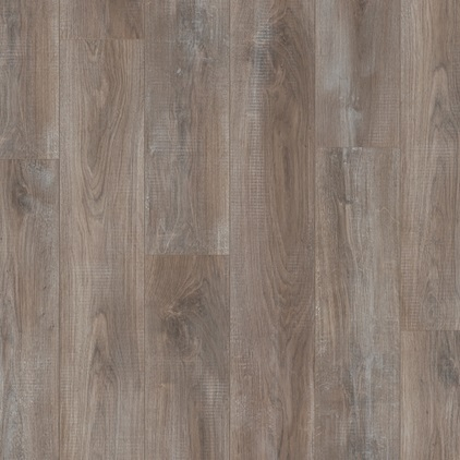 Dark brown Classic Plank - Nat. variation Laminate Chalked Taupe Oak, plank L0208-01811