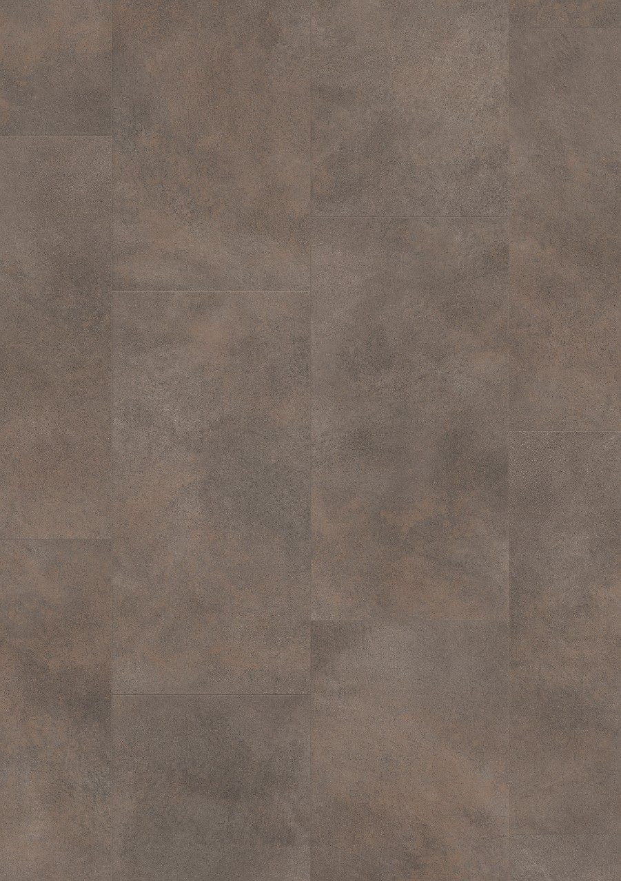 Tummanharmaa Tile Optimum Glue Vinyyli Oxidized Metal Concrete V3218-40045