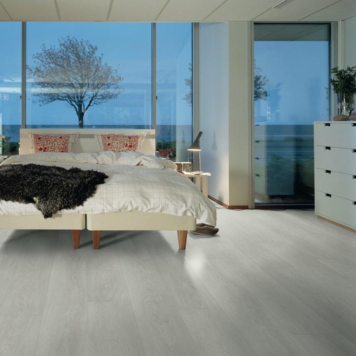 Светло-серый Wide Long Plank - Sensation Ламинат Дуб сибирский, планка L0234-03568