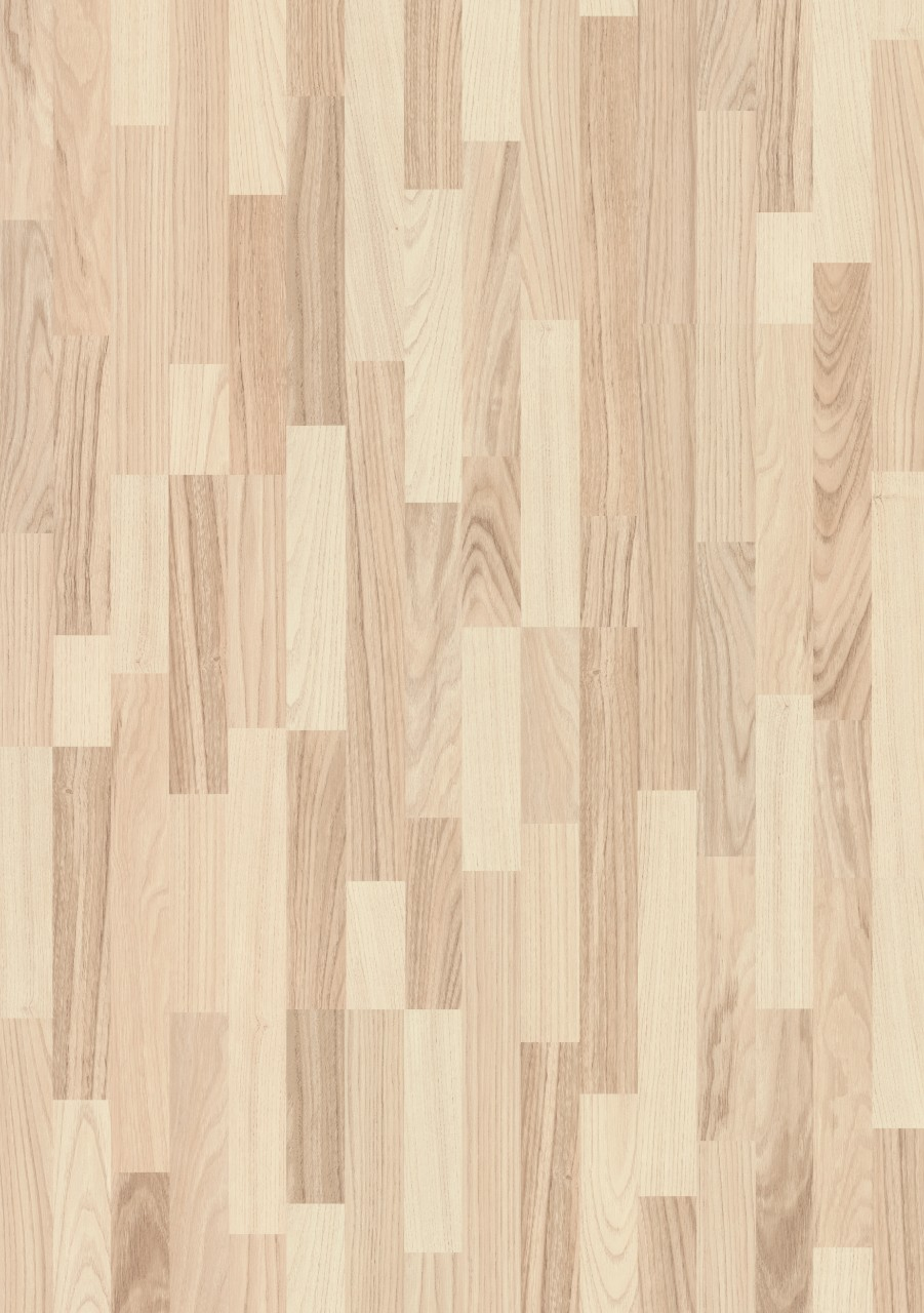 Beige Domestic Extra Laminat Nordic White Ash, 3-strip L0401-01822