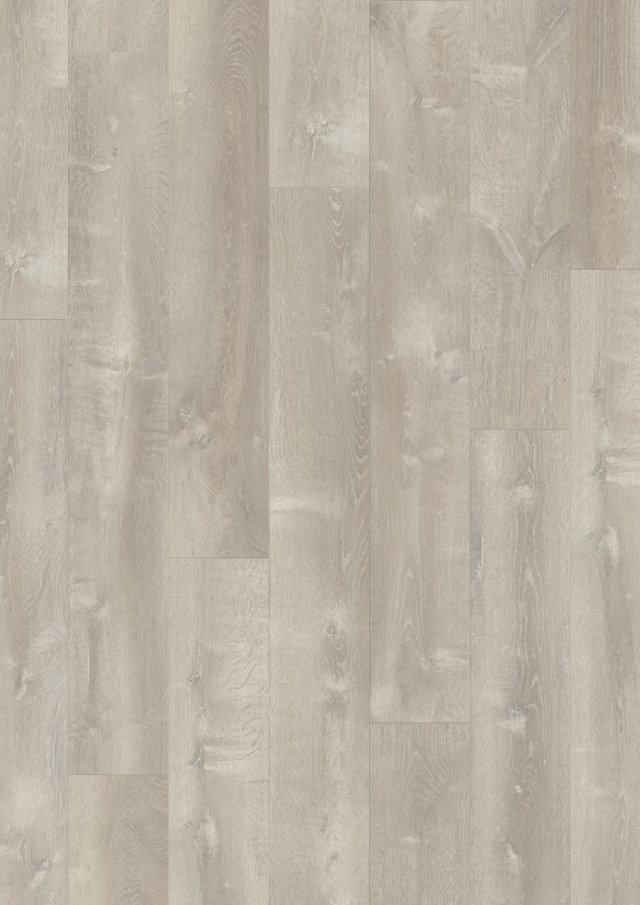 Light grey Modern plank Optimum Click Vinyl Grey River Oak V3131-40084