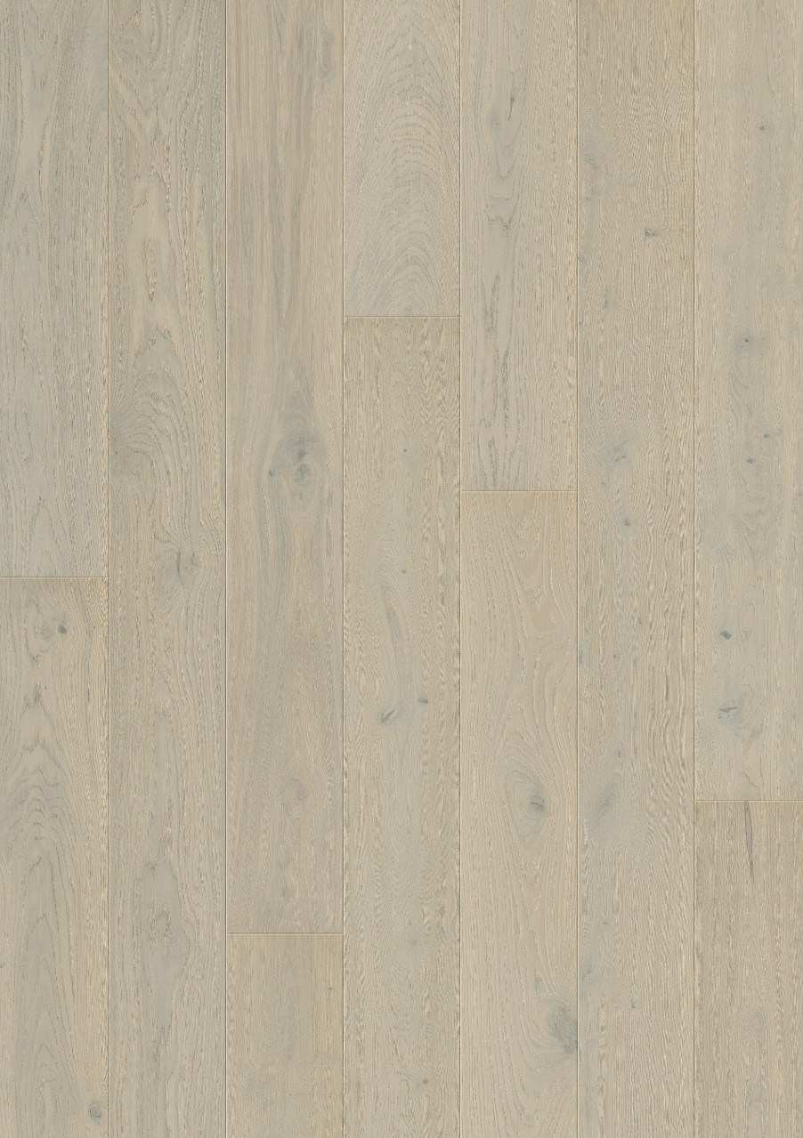 Vit Svalbard Parkett Lighthouse Oak, plank W0103-03794-2