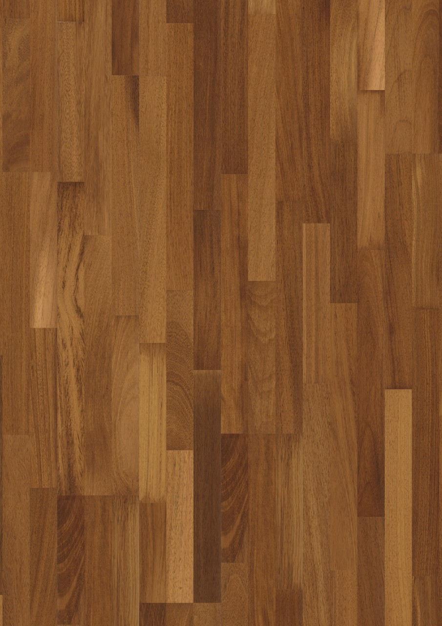 Natural Värmdö Parquet Harvest Iroko, 3-strip W1911-03487