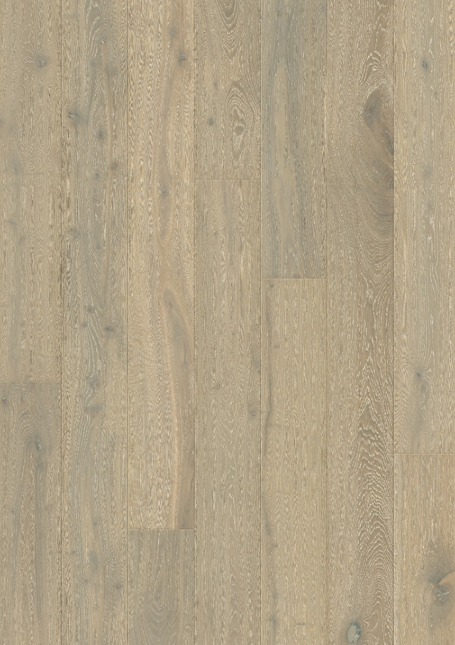 Ljusgrå Svalbard Parkett Whitewashed Oak, plank W0103-03791-2