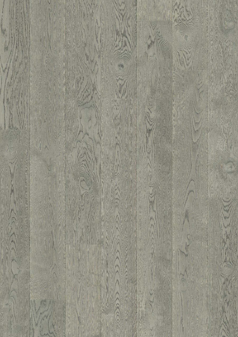 Light grey Gotland Parquet Ashen Grey oak, plank W1706-04004