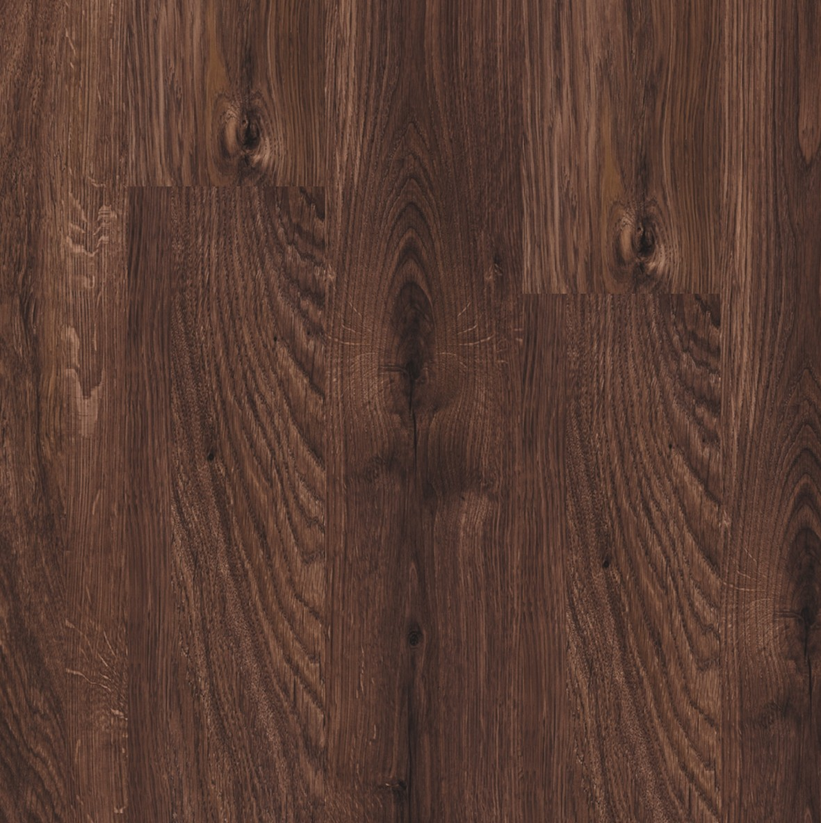 Dark brown Domestic Extra Uniclic Laminate Spanish oak, plank L0701-2254