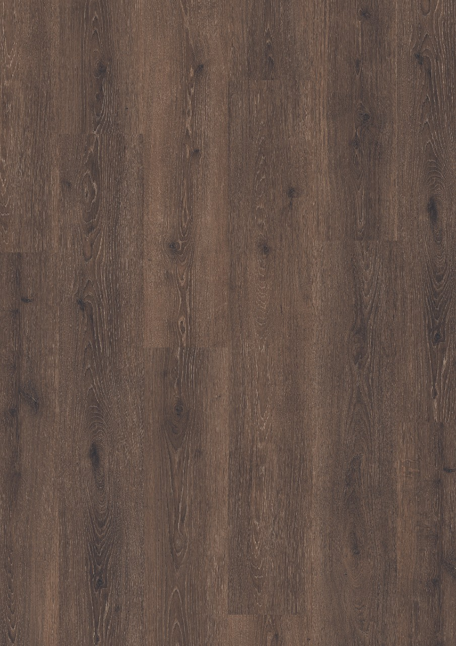 Dark brown Classic Plank LMP Laminate Thermotreated Oak, plank L0241-01803