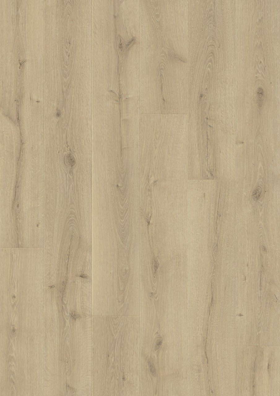 Beige Wide Long Plank - Sensation Laminat Seaside Oak, plank L0334-03571