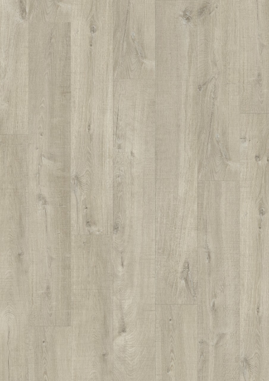 Light grey Modern plank Premium Click Vinyl Seaside Oak V2131-40107