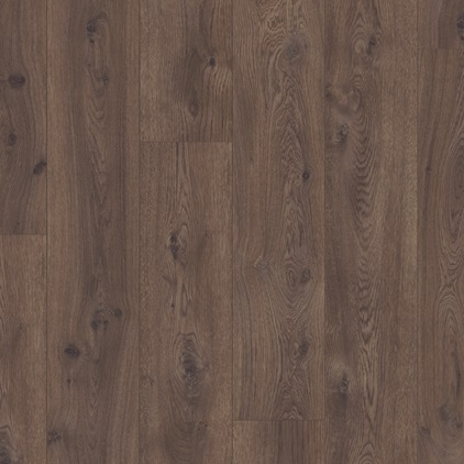 Dark brown Long Plank Laminate Chocolate Oak, plank L0223-01754