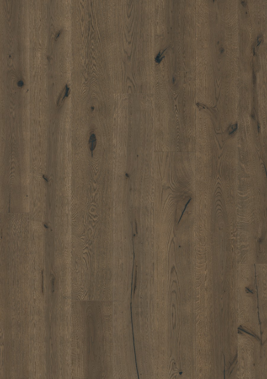 Mörkbrun Langeland Parkett Charleston Oak oiled, plank W0135-03564