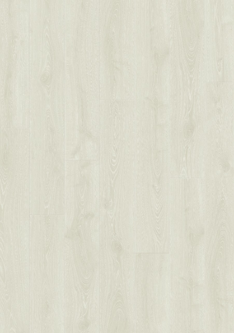 White Modern Plank - Sensation Laminate Frost white Oak, plank L0331-03866
