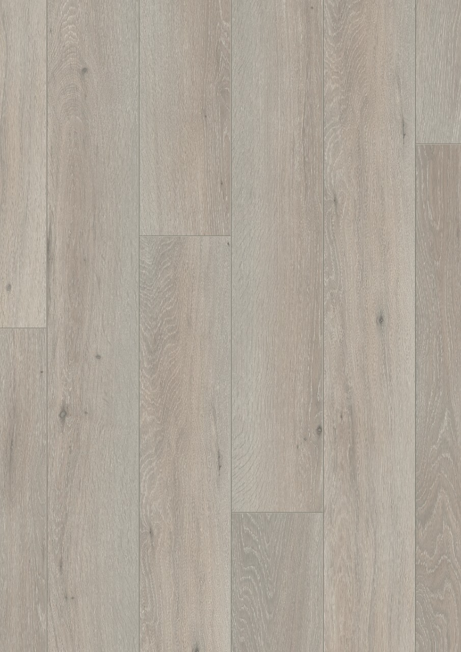 Light grey Long Plank Laminate Cottage Grey Oak, plank L0223-03362