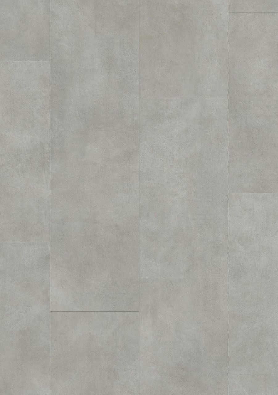 Tummanharmaa Tile Optimum Click Vinyyli Warm Grey Concrete V3120-40050