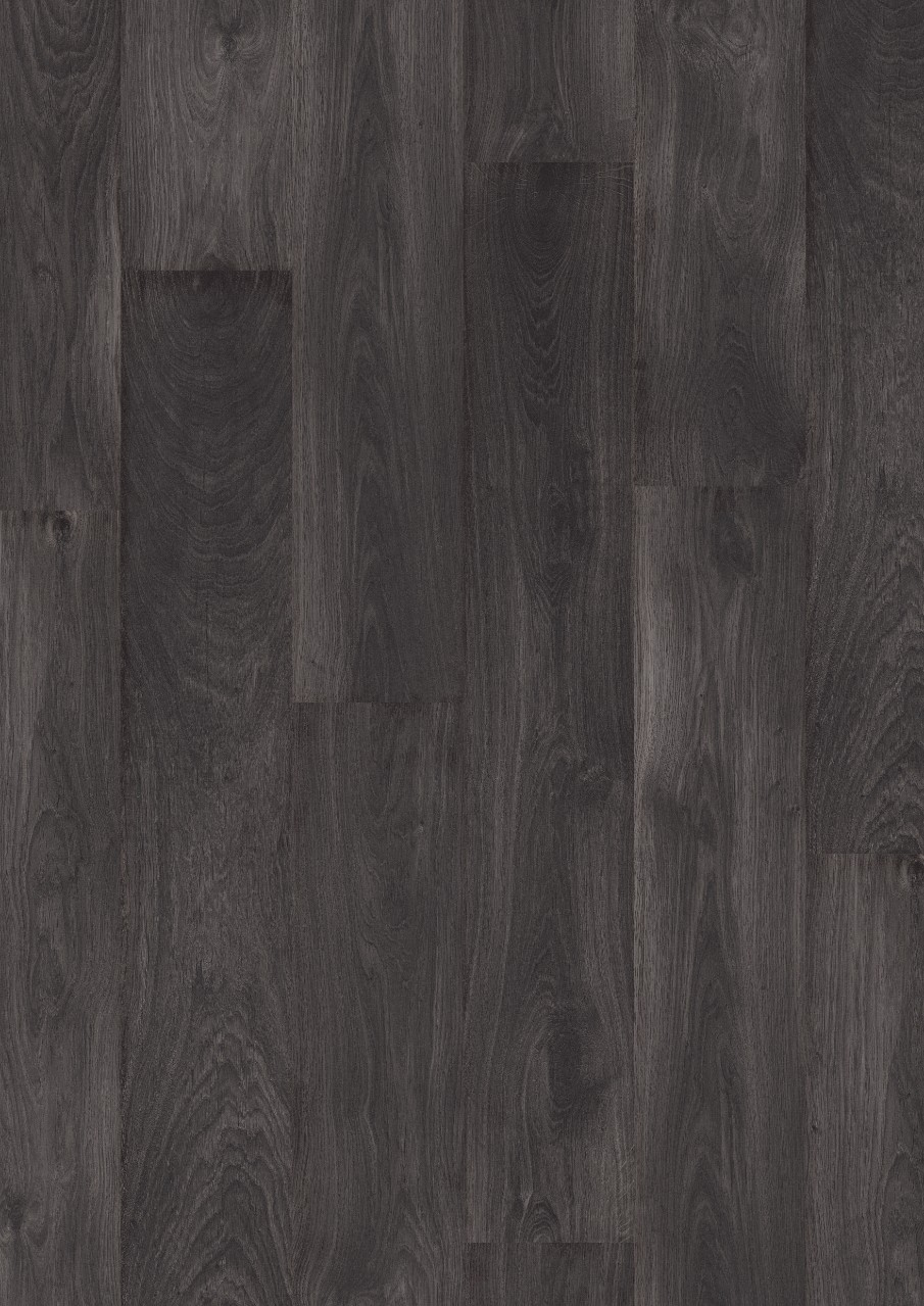 Sort Domestic Extra Laminat Black Oak, plank L0401-01806