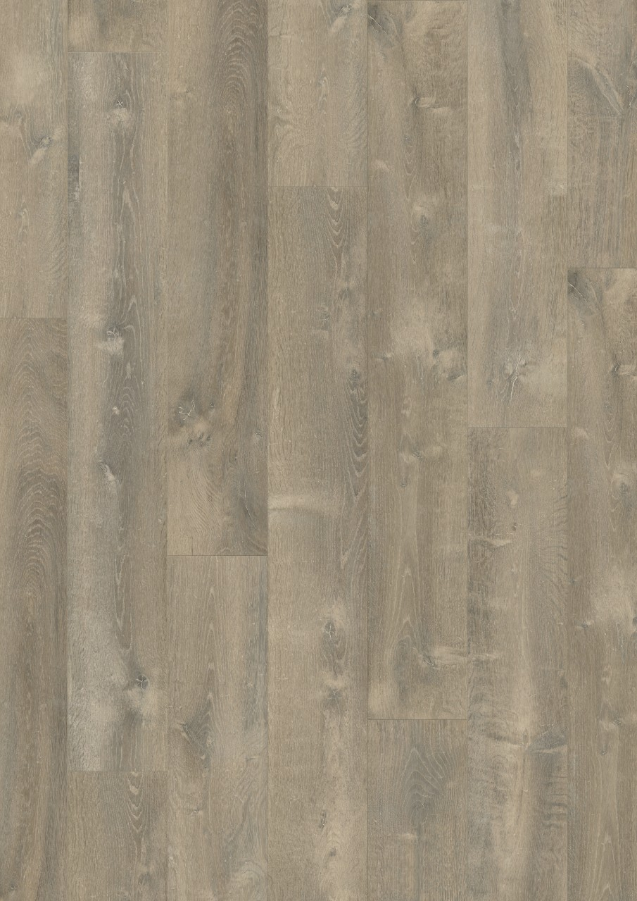 Gris oscuro Modern plank Optimum Click Vinilo Roble Río Oscuro V3131-40086
