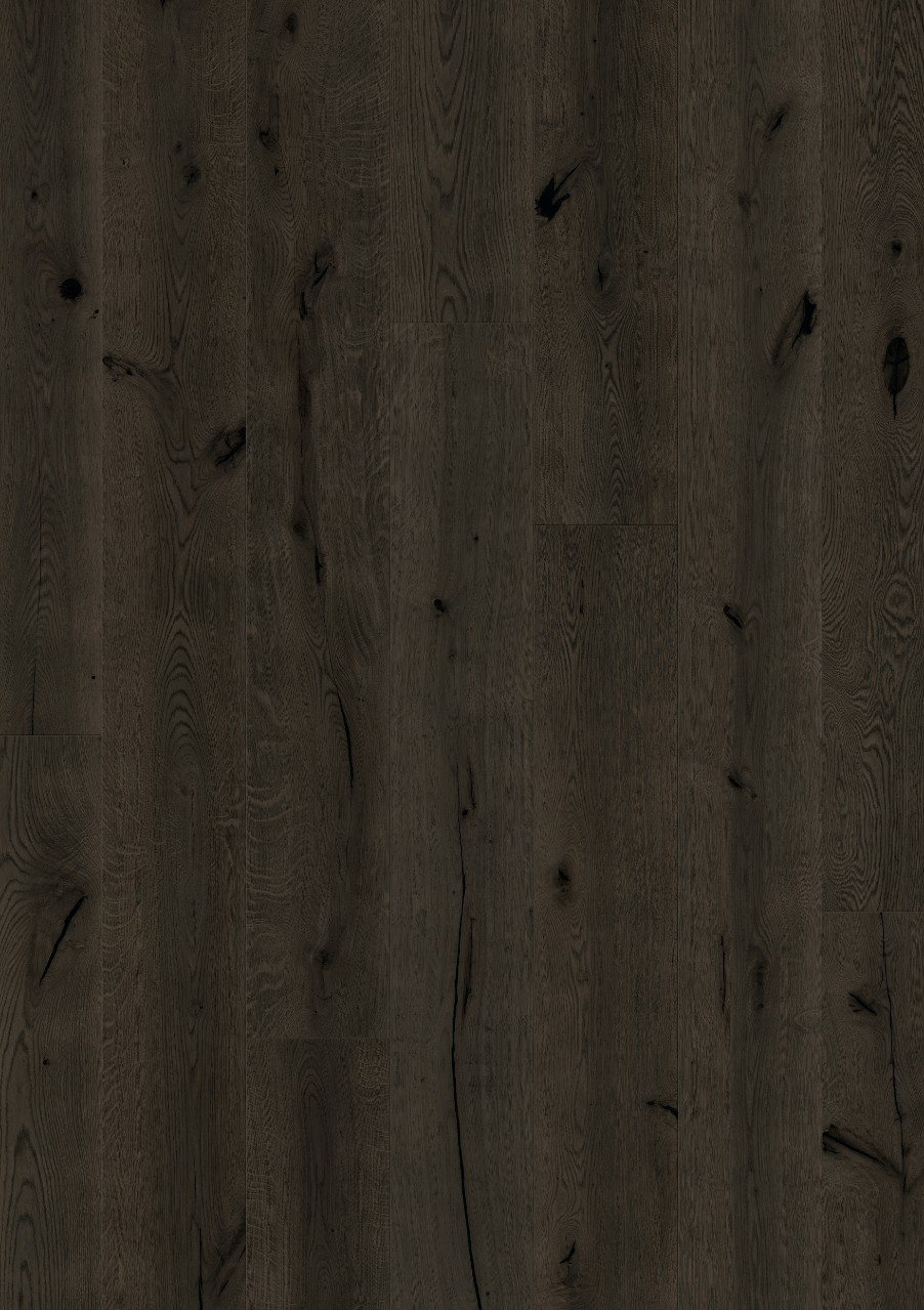 Svart Langeland Parkett Blackened Oak oiled, plank W0135-03788