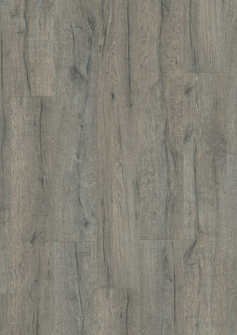 Gris oscuro Classic Plank Premium Rigid Cl Vinilo Roble Gris Herencia V2307-40037