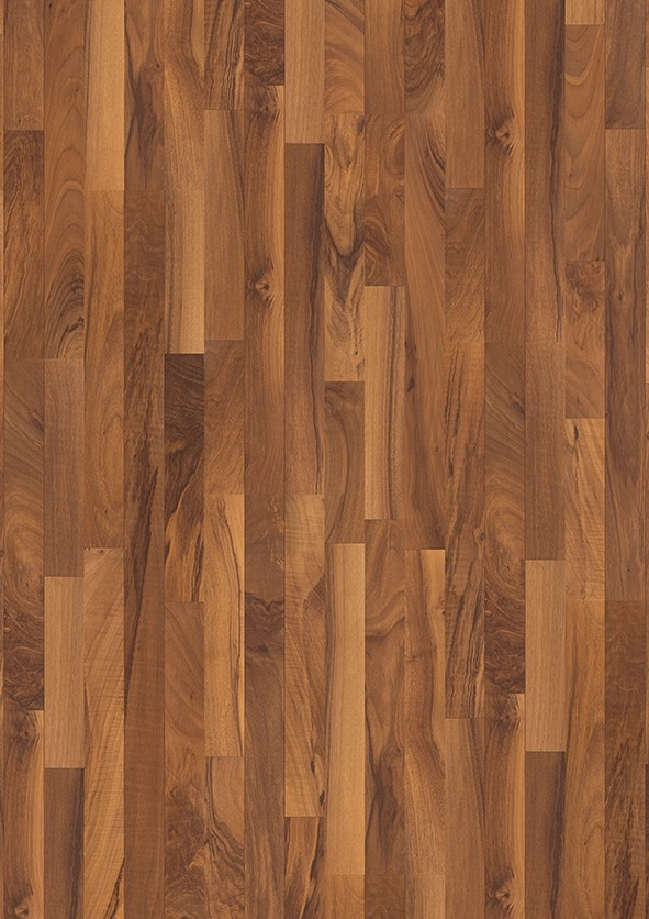 Dark brown Domestic Extra Uniclic Laminate European Walnut, 3-strip L0701-1791