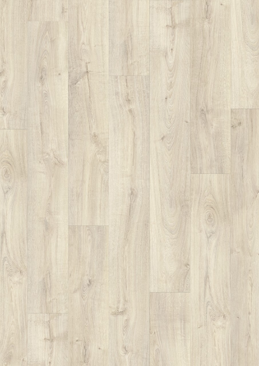 Light grey Modern plank Premium Click Vinyl Light Village Oak V2131-40095