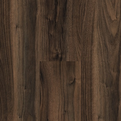 Dark brown Domestic Extra Uniclic Laminate Italian walnut, plank L0701-2136