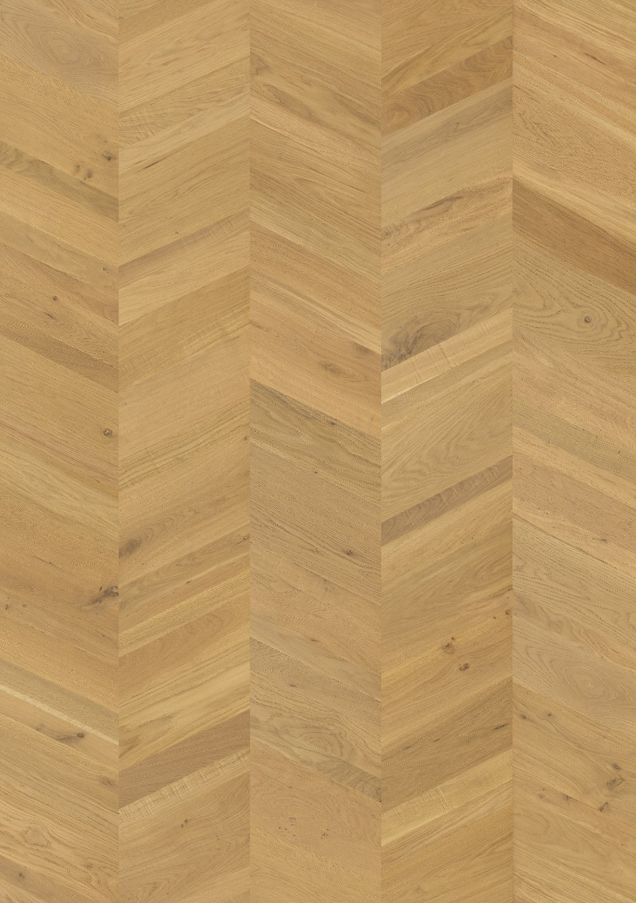 Natural Sandhamn Parquet Natural Manor Oak, Chevron W2434-04371