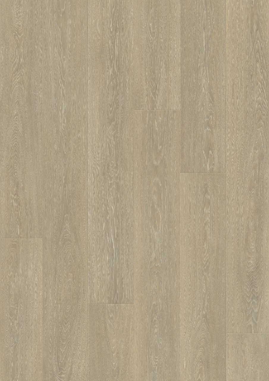 Beige Wide Long Plank - Sensation Laminados Roble nórdico tiza, plancha L0234-03865