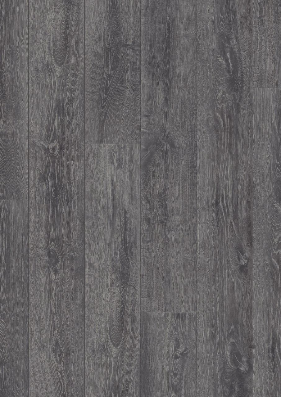 Dark grey Long Plank Laminate Midnight Oak, plank L0323-01763