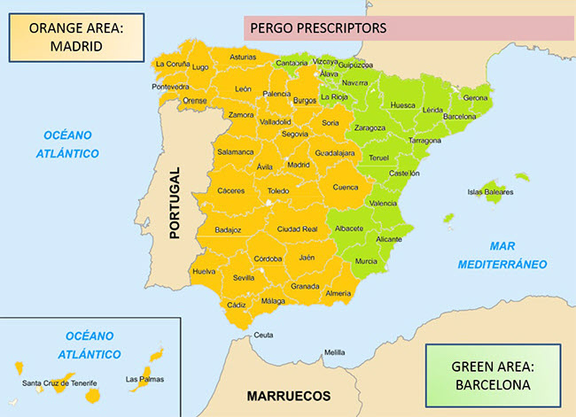 Contact Map Spain