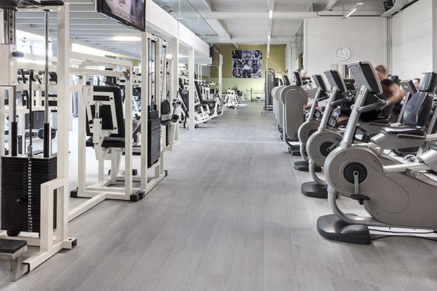 Pergo Floor In Gym De Kaai