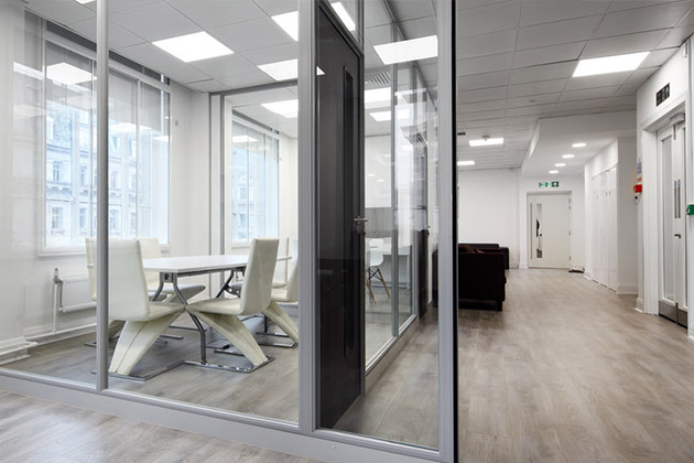 Pergo floors at Fruition Office in London