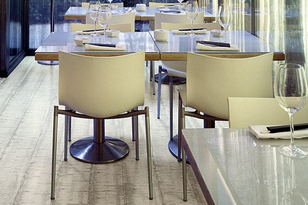 Pergo floor in Summa Restaurant Madrid