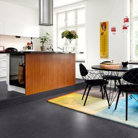 Forget tiled flooring – try a Pergo floor instead