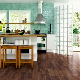 Match the floor with the tiles in your kitchen
