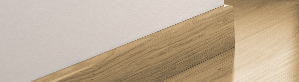 Match The Skirting Strip With Your Floor Pergo