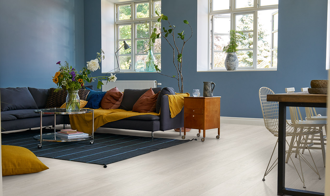 Painting a laminate floor? Think again!