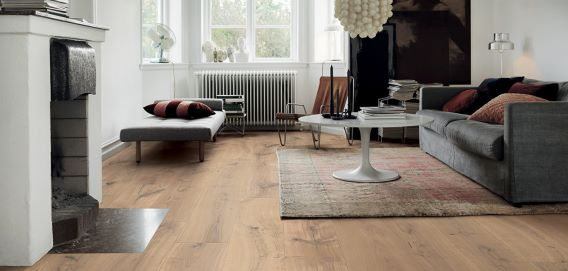 Painting a wood floor? Think again!