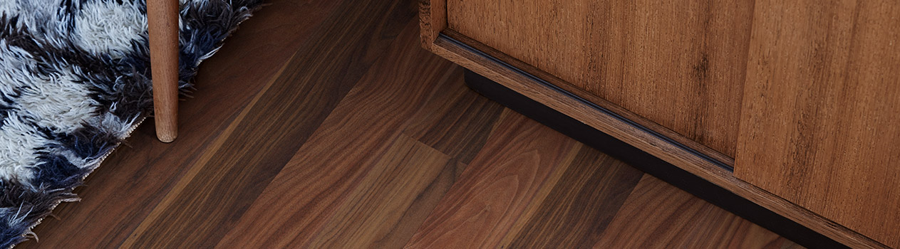 walnut flooring for those who want a vibrant floor in dark shades