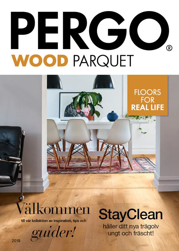 pergo wood parquet brochure