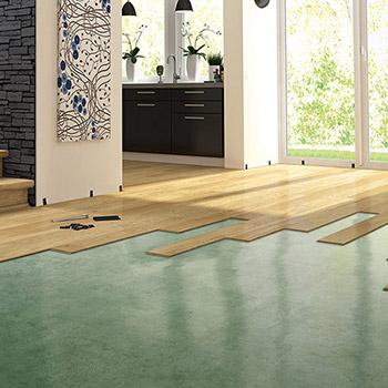 Instalace dřevěné podlahy Pergo