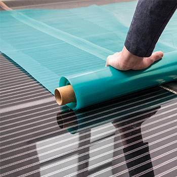 Vloerverwarming met laminaat