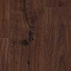 Dark brown floor